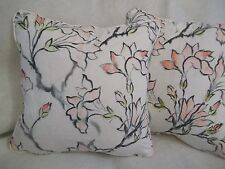 "MAGNOLIA BY DESIGNERS GUILD 1 PAIR OF 18"" CUSHION COVERS - DOUBLE SIDED ZIP OFF"