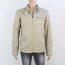 Zara Polyester Regular Size Zip Neck Coats & Jackets for Men