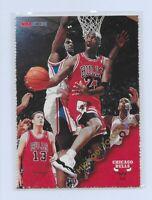 1996 Hoops Michael Jordan NNO Perforated Sheets Panel Promo RARE NM 1/1? Skybox