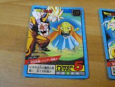 DRAGON BALL Z DBZ SUPER BATTLE PART 14 CARDDASS CARD REG CARTE 601 JAPAN 1995 NM