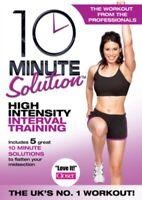 10 Minuti Soluzione - Alta Intensity Interval Training DVD Nuovo DVD (ABD5185)