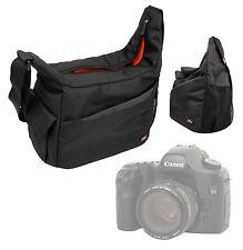 Black & Orange Bag for Canon EOS M3 / EOS 750D / EOS 760D / EOS 5DS / EOS 5DS R