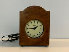 Vintage Hammond Synchronous Spin to Start Wooden Clock
