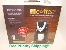 New Remington iCoffee Express 1-Cup Single Serve K-Cup Coffee Maker RSS100EXP