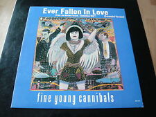 """FINE YOUNG CANNIBALS...EVER FALLEN IN LOVE...USA GOLD PROMO STAMPED 12"""" 33RPM"""