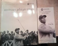 Tiger Woods  2008 Buick Open 50 years Tournament Program & Official Pairings NEW