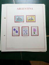 ARGENTINA, LOT timbres oblitérés et/ou neufs, VF STAMPS