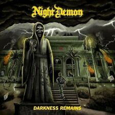 NIGHT DEMON / DARKNESS REMAINS * NEW VINYL LP + CD 2017 * NEU
