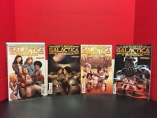 Lot Of 4 Battlestar Galactica Starbuck 1-4 Dynamite Comics 2014 Chen 2 3