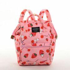 Japan Lolita Girls Cute Strawberry Pattern Backpack School Bag Women Gift