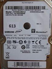 500GB Samsung ST500LM012 HN-M500MBB | C7943-G12A-AF1HW | 03.2012 #613