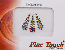 Bijoux de peau multicolore autocollant-bindi-Mariage oriental bollywood-2241