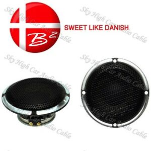 "B2 Audio Reference 3.5"" Elite Midrange Speaker 50W Max 4 Ohm 1″ voice coils Pair"