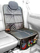 CAR SEAT COVER PROTECTOR ISOFIX & STORAGE FOR KIDS SEATS & ADULTS ANTI SLIP