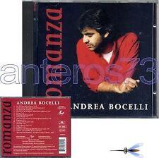 """ANDREA BOCELLI """"ROMANZA"""" RARO CD IN SPAGNOLO 1996"""