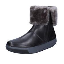 womens shoes MBT 3,5 (EU 36) ankle boots black leather suede BT213-36