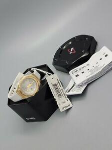 CASIO BABY-G G-MS Ladies Solar Powered Quartz White Strap 42mm Watch MSGS500G-7A