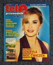 KATE WINSLET  mag.COVER Poland 2011 TELE PRZEWODNIK NOWOSCI Jennifer Aniston