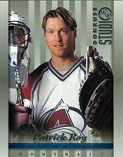 Patrick Roy 1997-98 Donruss Studio '97 Portrait Colorado Avalanche #7 NM 8x10
