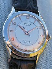 Orologio TREMATIC GENEVE rarissimo anni '60 ancora NUOVO fondo di magazzino