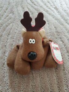 Rodney and Friends Rodney Reindeer Plush Toy 1987 Burger King Premium Hallmark
