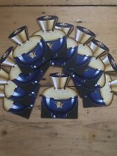 VERSACE POUR FEMME DYLAN BLUE  ~10 ONE USE LADIES PERFUME SAMPLES~Fab 4 Hols/Bag