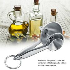3pcs/set Stainless Steel Funnel Wide Mouth Kitchen Funnels With Handles Size S-L