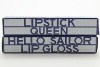2x Lipstick Queen Hello Sailor Lip Gloss, .2 Ounce (BNIB-DETAILS)