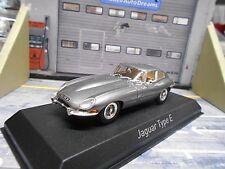 JAGUAR E-Type E MKI Coupe 1964 grau grey met Norev NEU 1:43