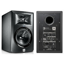 "JBL LSR305 5"" Two-Way Powered Bi-amplified Studio Reference Monitor Speaker Pair"
