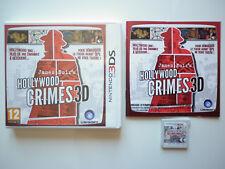 James Noir's Hollywood crimes 3D Jeu Vidéo Nintendo 3DS
