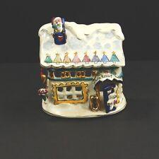 Blue Sky Clayworks Christmas Tea Light Holder White Rabbit Toys Santa Toystore