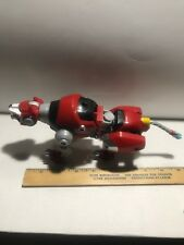 Voltron Legendary Defender Red Lion 2017 Playmates 8 Inch Used