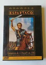 ESPARTACO - DVD - STANLEY KUBRICK - KIRK DOUGLAS - VERSIÓN RESTAURADA - 4 OSCAR