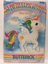 MLP G1 Starshine Sewing PATTERN, Vintage 1985 My Little Pony, Butterick, RARE