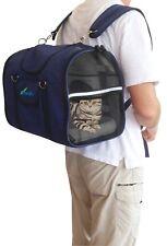 Aerolínea aprobado mascota gato perro portador espalda/delantero Pack Bolso De Hombro poste libre