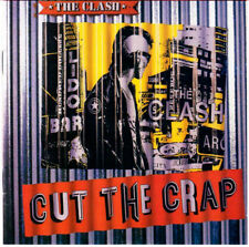 THE CLASH - CUT THE CRAP (CD 1985 REMASTER US 1994 - LABEL EPIC)