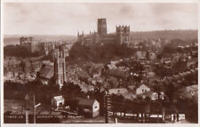 Durham from railway panorama photo postcard