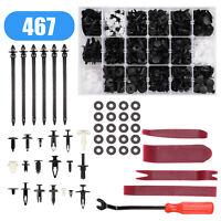 467x Auto Niete Clip Sortiment Türverkleidung für KFZ PKW Werkstattbedarf Set