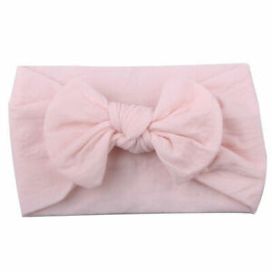 3Pcs/Set Baby Girl Headband Lace Flower Kids Toddler Bow Knot Elastic Hair Band