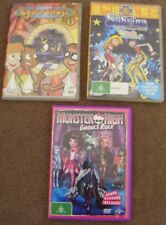 KIDS Movie DVD Lot  CYBERCHASE Vol 1 + SABRINA Teenage Witch + MONSTER HIGH