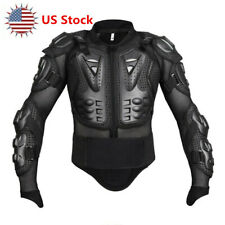 Motorcycle Motocross Race Full Body Armor Jacket Spine Chest Protective Gear