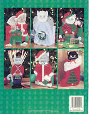 Christmas Kitties  ~ plastic canvas book ~  6 CAT patterns to make for Christmas