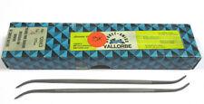 9 Grobet Swiss Vallorbe Präzisions Riffelfeilen L=170 SH-4 Nr.12883 Neu H16250