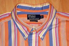 Elegant Ralph Lauren camisa manga larga kw 46 - 18 1/2 - 2xt Classic Fit