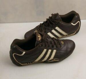 Adidas Adi Racer Goodyear Men's Leather Trainers RARE, Brown UK 7.