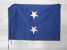 flag800 Us Navy 2 Star Rear Admiral small flag with ties
