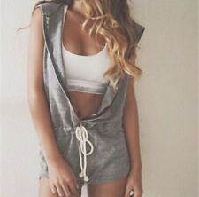 Brand New Women Jumpsuit Hoodie Grey Size M AUS Shipping
