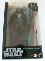 """Action Figure - Star Wars - The Black Series 6"""" - #02 Darth Vader - Preowned"""