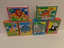 VINTAGE Mini Puzzle 24 Teile 6  Motive Hans Postler Puzzle Rarität 90 er Jahre